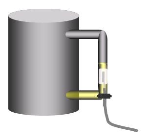 タンク外側での容量計測