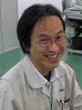 New Product Development Group Leader Mr. Yoshimura